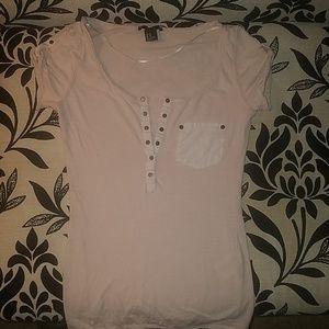 H&M Pink Blouse Size XS